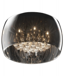 KRYSZTAŁOWA LAMPA SUFITOWA PLAFON ZUMA LINE CRYSTAL C0076-05L-F4FZ
