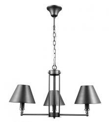ITALUX LAMPA ŻYRANDOL BANITO MD38623/3 SZARY ANTRACYTOWY