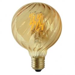 ŻARÓWKA DEKORACYJNA LED VINTAGE AMBER AG95 E27 450lm, 4W, 2700K FILAMENT