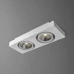 LAMPA PLAFON AQUAFORM SLEEK 111x2 46613-03