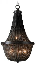 LAMPA WISZĄCA COSMO LIGHT ROMA P04543BK