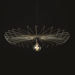 NOWODVORSKI UMBRELLA LAMPA WISZĄCA INDUSTRIALNA DRUCIANA