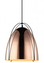 NOWOCZESNA MIEDZIANA LAMPA WISZĄCA ITALUX ZILLA MDM3346/1 COP