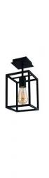 NOWODVORSKI CRATE 9045 LAMPA SUFITOWA PLAFON CZARNY