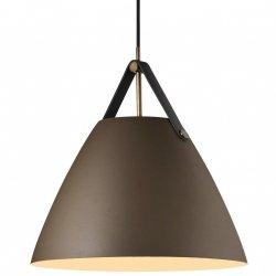 NOWOCZESNA LAMPA WISZĄCA DESING FOR THE PEOPLE STRAP 36 BRĄZOWA 84343009