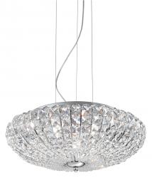 KRYSZTAŁOWA LAMPA WISZĄCA VIRGIN SP6 IDEAL LUX