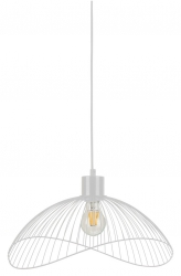 DRUCIANA LAMPA WISZĄCA BIAŁA LOFT ITALUX NUNEZ PND-1702-1-M-B