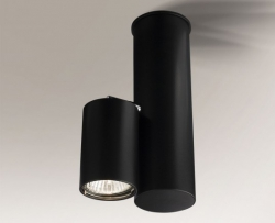LAMPA SUFITOWA SPOT REFLEKTOR SHIMA 2201 SHILO CZARNA
