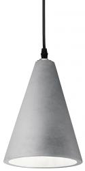 BETONOWA LAMPA WISZĄCA OIL-2  IDEAL LUX 110424