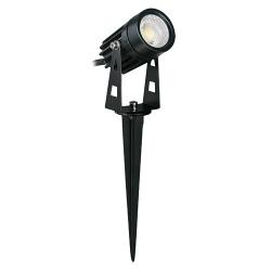 LAMPA OGRODOWA REFLEKTOR PLANT LED 03129 CZARNY IDEUS
