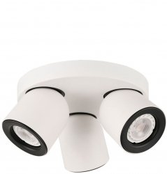 SPOT NOWOCZESNY ITALUX NUORA SPL-2855-3C-WH LAMPA NATYNKOWA GU10