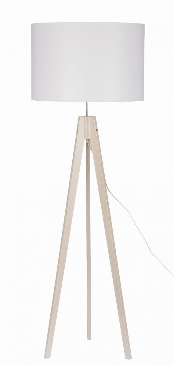 Lampa Podłogowa Stojąca Abażurowa Dove White 2900 Tk Lighting