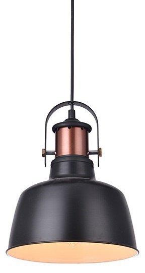 LAMPA SUFITOWA WISZĄCA AZZARDO DARLING 1 BLACK AZ2409