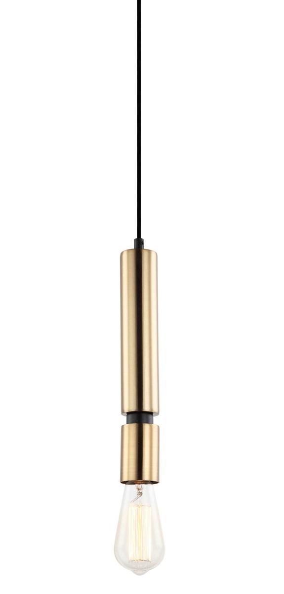 LAMPA WISZĄCA ZWIS DEKORACYJNY VINTAGE ITALUX TORLA PEN-5041-1-BKBR MOSIĘŻNA