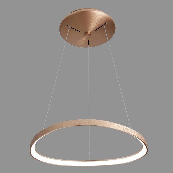 ITALUX MORFI 5355-848ROP-GB-3 LAMPA WISZĄCA KOŁO LED NOWOCZESNA DO SALONU - JADALNI