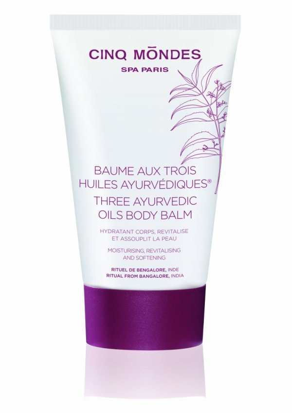 Three ayurvedic oils body balm/Balsam do ciała z 3 olejami ajurwedyjskimi