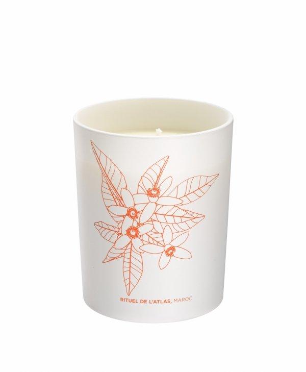Phyto - aromatic candle/Fito-zapachowa świeczka. Rytuał z gór Atlas