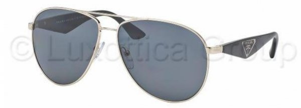 Prada PR 53QS ZVN-5Z1 TRIANGLE Polarized 60