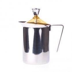 G.A.T. Fantasia Cappuccino - Ręczny spieniacz do mleka 600ml - Żółty