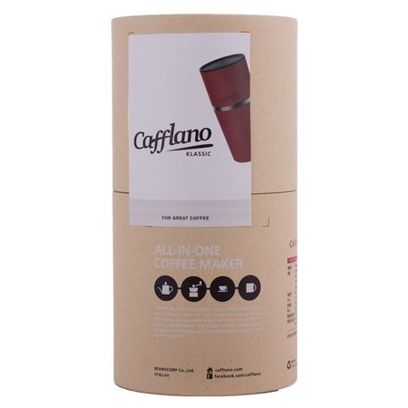Cafflano Klassic - All in One Coffee Maker - Czerwony