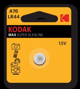 Kodak MAX A76 LR44 Jednorazowa bateria Alkaliczny