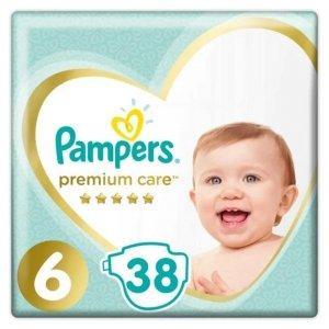 Pampers Zestaw pieluch Premium Care VP 6 (13+ kg); 38