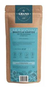 Kawa Ziarnista Grano Tostado Truskawka w śmietanie 500g