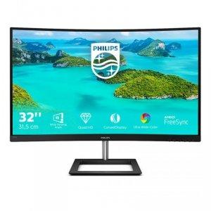 Philips E Line 325E1C/00 monitor komputerowy 80 cm (31.5) 2560 x 1440 px Quad HD LCD Czarny