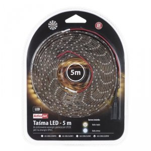 Taśma w żelu LED Activejet AJE-Z300L3528WWI (180 lm; Biały ciepły; 5m; 4 W; IP65)
