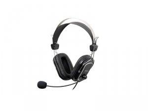 Słuchawki z mikrofonem A4 TECH Evo Vhead 50 A4TSLU09264 (kolor czarny)