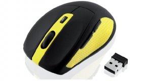 Mysz IBOX Bee2 Pro IMOS604W (optyczna; 1600 DPI; kolor czarny)
