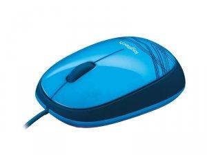 Mysz Logitech 910-003114 (optyczna; 1000 DPI; kolor niebieski)