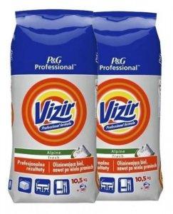 Zestaw - 2 x VIZIR Proszek do prania Regular 10,5kg