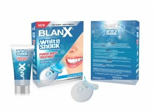 Blanx White Shock Treatment 50ml + BlanX Led Bite (intensywny system wybielający)