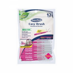 Dentek Interdental 0,35mm Easy Brush 12 sztuk