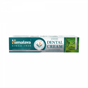 Himalaya Dental Cream Neem | Ajurwedyjska pasta do zębów antybakteryjna i przeciwpróchnicza bez fluoru | 100g