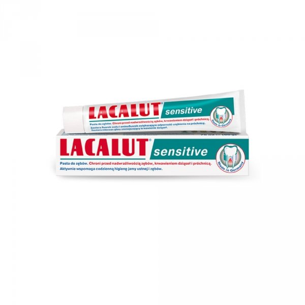 LACALUT Pasta do zębów Sensitive 75 ml
