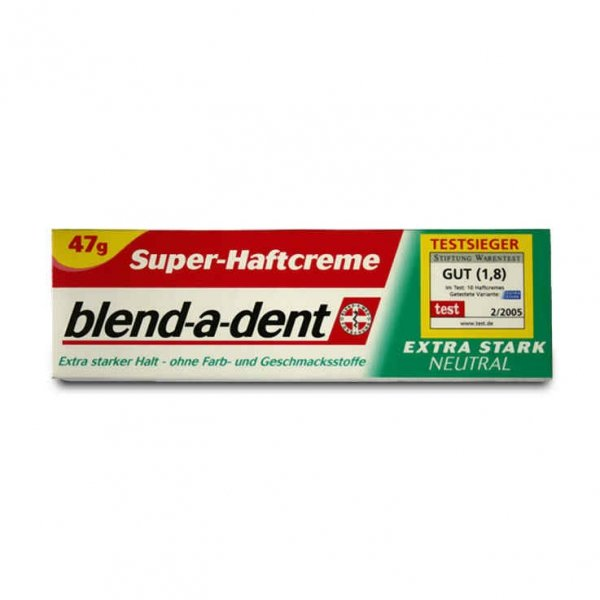Blend-a-dent klej do protez Extra Stark Neutral 47 g