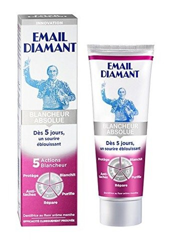 Email Diamant BLANCHEUR ABSOLUE 75ml
