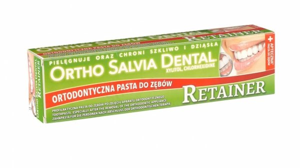 ORTHO SALVIA DENTAL® RETAINER TIME 75ml - ortodontyczna