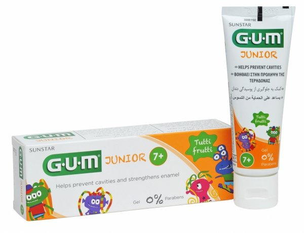 Pasta do zębów junior dla dzieci od 7 do 12 latn 50ml - producent Sunstar Gum USA
