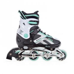 Rolki Raven Pulse (black/mint)