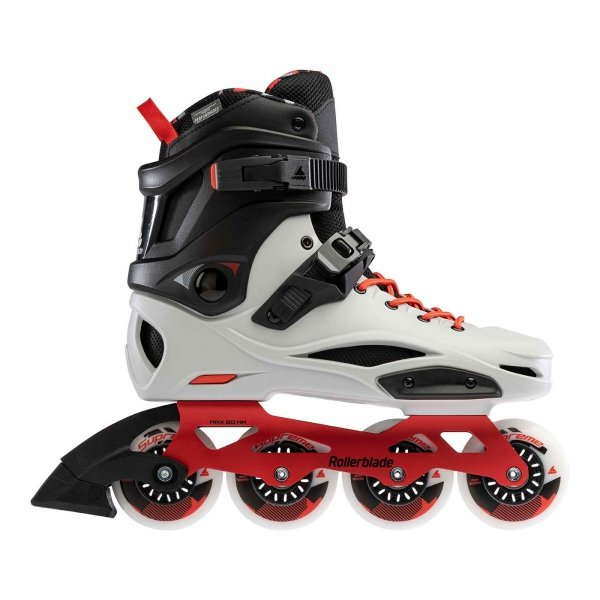 Rolki Rollerblade RB 80 Pro X (grey/warm red) 2021