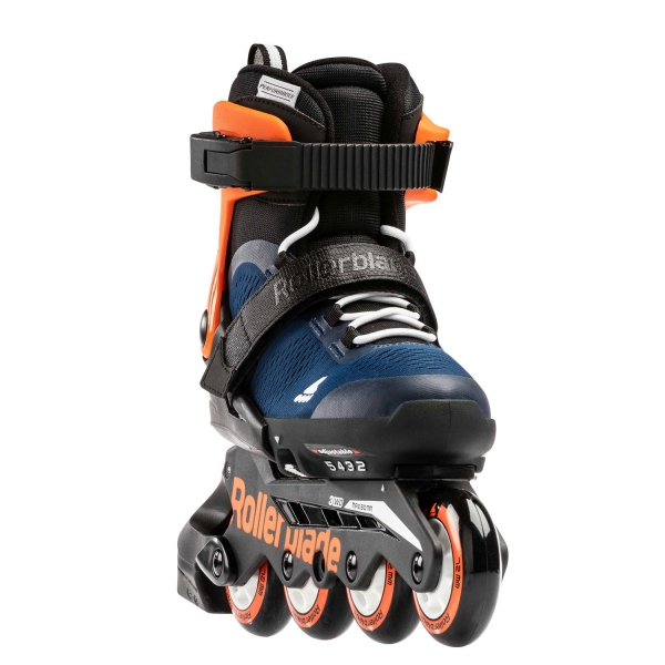 Rolki Rollerblade Microblade G (midnight blue / orange) 2021