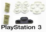 Zestaw gumek pod przyciski PADA PS3 DS3 gumki