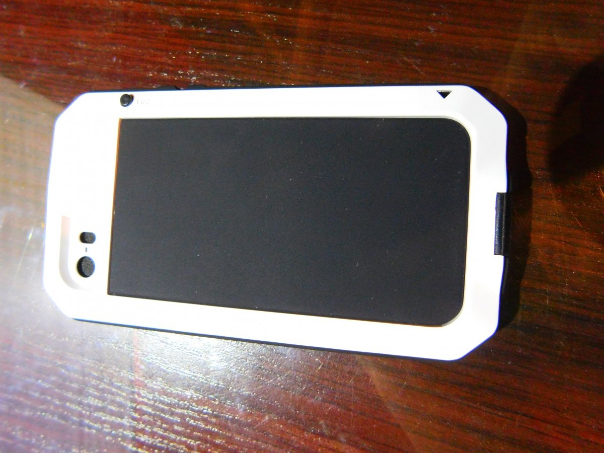 968744269fbcfa Obudowa biała pancerna GORILLA GLASS iphone 5, 5s SE