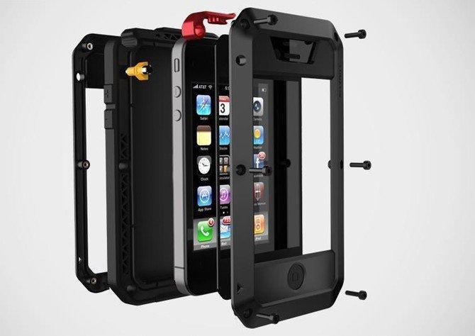 d0d8520cb5d3c4 Obudowa CASE Pancerna GORILLA GLASS ochrona dla iPhone 4, 4S