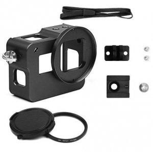 Obudowa aluminiowa kamera gopro HERO 5 6 7 + Filtr UV