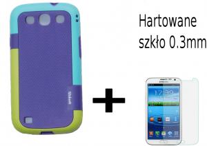 Obudowa Case Samsung Galaxy S3 + szkło hartowane 0.3mm