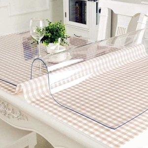 Mata, podkładka elastyczna na stół, biurko, komodę, obrus do jadalni, kuchni lub salonu na wymiar 150x80cm 1mm